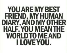 To my bf! Thank you! ♡