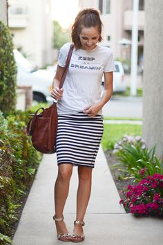 Get year-round use out of those pencil skirts in your closet by learning how to style them for any weather! Don't be afraid to style them with a cute tee and layering pieces for any occasion! What's your favorite way to style pencil skirts? Do you have a favorite color combo or pattern?