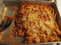 My mom made this and Dave and I ate it until we couldn't move then he asked me to make it the next day. Delicious and easy. -April momstheword: Cooking With Mom's The Word: Quick and Easy Casserole Dish
