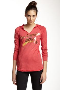 Fabulous Graphic Hooded Tee (Juniors)