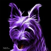 Purple Australian Terrier - 6500 - Animal Artist James Ahn