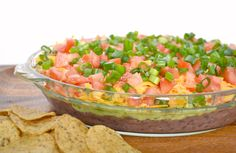 Seven Layer Dip (with Black Beans)