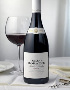 Gran Moraine   Jackson Family Wines, Wine Label & Packaging Design by CF Napa Brand Design #jacksonfamilywines #packaging #design