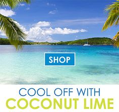 This is how we do summer!  Sun-ripened coconut and tangy lime!    #MyScent   #CoconutLime