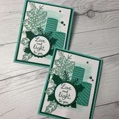 I used the Sweetest Time Stamp Set along with the coordinating Sweetest Border Dies from Stampin' Up! to create these lovely Christmas Cards. #stampinupcards #stampinupdemonstrator #christmascard #handmadechristmascard #stampedsophisticate #donnaross #diychristmascards Diy Christmas Cards, Stampin Up Christmas, Xmas Cards, Diy Cards, Christmas Catalogs, Scrapbook Cards, Homemade Cards, Stampin Up Cards, Cardmaking