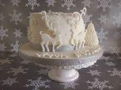 Risultati immagini per decorare una torta per natale