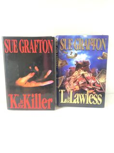 Sue Grafton Lot of 2 T is for Trespass S is for Silence Hardcover Books
