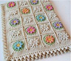 crochet granny square - Google-Suche