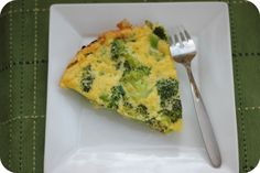 Healthy & delicious recipe for Broccoli Frittata, perfect for those on a low carb diet.
