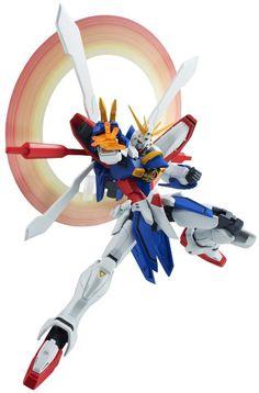 "Bandai Tamashii Nations Robot Spirits God Gundam ""Mobile Fighter G-Gundam"" Action Figure"