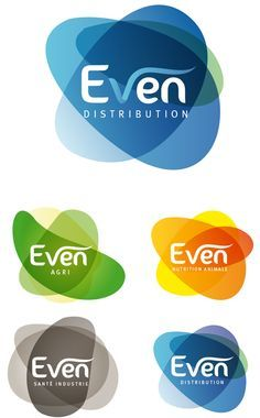 """""""Even"""" Logos Colours again - love them - could be incorporated into suggestion of hubs - hubs of excellence - services - etc Corporate Design, Brand Identity Design, Branding Design, Typography Logo, Logo Branding, Logo Mexicano, Logo Image, Inspiration Logo Design, Brand Architecture"""