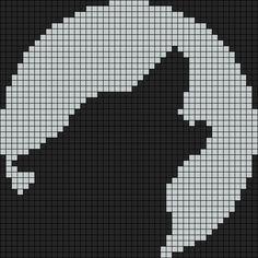 Alpha friendship bracelet pattern added by puppydog. Beading Patterns Free, Bead Loom Patterns, Cross Stitch Patterns, Bracelet Patterns, Owl Patterns, Alpha Patterns, Pixel Pattern, Pattern Art, Pixel Art Loup
