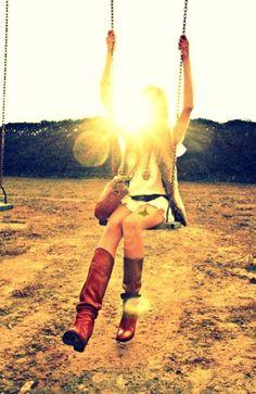 Freedom, sunshine.
