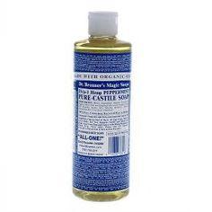 Dr. Bronner's Pure Castile Soap - Peppermint - 16 oz : Target