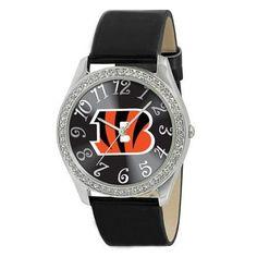 Cincinnati Bengals NFL Ladies Glitz Series Watch