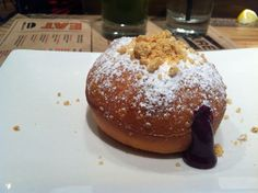What the foie gras? Man meets jelly doughnut at Umamicatessen Photo: Jessica Gelt / Los Angeles Times