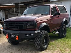 Ford Bronco 1996, Ford Bronco Lifted, Bronco Truck, Lifted Ford Trucks, 1996 Ford F150, 4x4 Trucks, Ford Gt, Ford Fiesta Modified, Ford Diesel