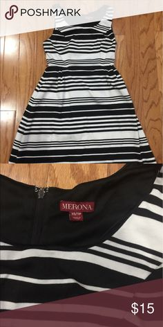 Super cute striped sleeveless dress Great condition. Smoke and pet free home Dresses Midi