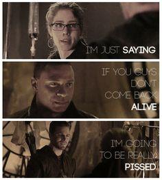 Arrow - Oliver, Diggle & Felicity #2.22 #Season2