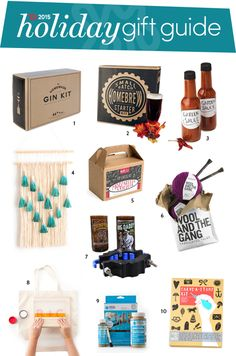 For the Person Who Has Everything: Hobby Kits & Other Gifts That Teach You Something — Holiday Gift Guide from Apartment Therapy