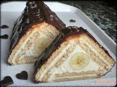 Túrós-banános háromszög sütés nélkül | TopReceptek.hu