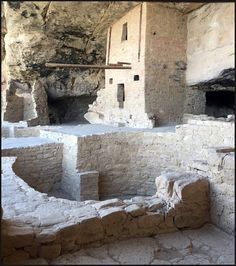 Inside Balcony House Cliff Dwelling, Mesa Verde National Park Colorado