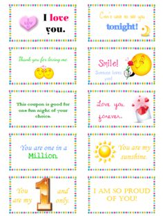 Encouraging Notes for Hubby's Lunch (Free Printables!) | Free ...