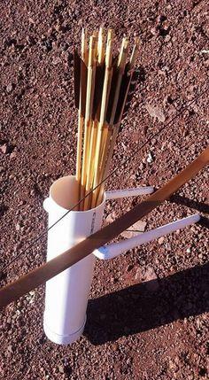 PVC Archery Ground Quiver