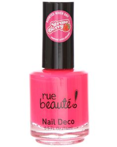 Smells delicious! rue21 Strawberry scented nail polish. $3.99