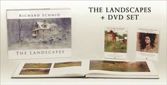 This special set includes: The landmark book The Landscapes,  Sequential Sketches DVD, (with bonus feature film Secret Squint) And an instruction DVD of your choice.        For more information visit:   www.RichardSchmid.com