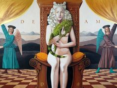✅ Buy the Artwork 'Deam as a tribute to Francesca' by Daniel Porada : Painting Acrylic, Oil on Wood - ➽ Free Delivery ➽ Secure Payment ➽ Free Returns Almost Perfect, Paintings For Sale, Art For Sale, Surrealism, Wood, Artist, Artwork, Images, Work Of Art