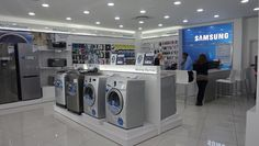 Samsung Extends Its Brand Store Chain in South Africa Brand Store, Magnifying Glass, Shopping Center, South Africa, Mall, June, Samsung, Posts, Display