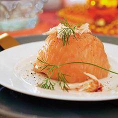 Recept - Zalmpakketje - Allerhande, ipv krab met garnalen proberen