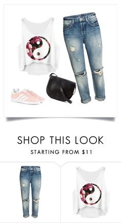 """""""Daily Look"""" by shosho-mahmmod ❤ liked on Polyvore featuring Loeffler Randall and adidas Originals"""