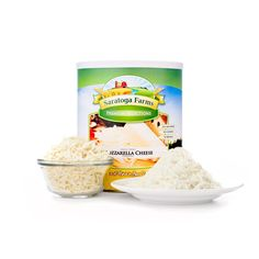 Saratoga Farms Freeze Dried Mozzarella Cheese