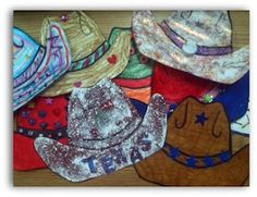 Little Miss Kindergarten - Lessons from the Little Red Schoolhouse!: Greetings From Texas! Cowboy Theme, Western Theme, Cowboy And Cowgirl, Western Art, Cowboy Hats, School Week, Pre School, Public School, Classroom Themes