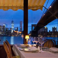 Before summer ends, you have to dine at one of these waterfront restaurants in New York City.