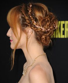 Braid with rope detail