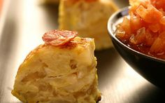 Prawn, potato and cheese tortilla Recipe by Food Network Kitchens