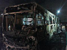 DE OLHO 24HORAS: Ônibus é incendiado em Fortaleza: sétimo ataque em...