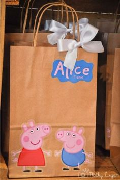 """Os 3 Anos da Alice – Tema """"Peppa Pig"""""""