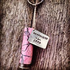 Realtree Pink Camo Shotgun Shell Keychain  #RealtreePink