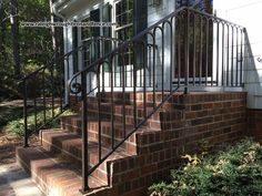 Entrance Iron Railings Raleigh NC