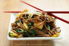 Korean Noodle Stirfry