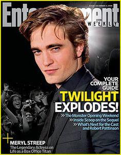 Robert Pattinson  Entertainment Weekly  November 2008