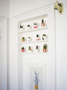 Creative way to display succulents! #LoveNature