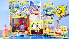 Spongebob Squarepants Toys Videos Opening Blind Bag Mr Krabs & Plankton ...