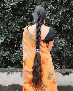 Long Hair Indian Girls, Indian Long Hair Braid, Indian Hairstyles, Braided Hairstyles, Thick Braid, Super Long Hair, Braids For Long Hair, Beautiful Long Hair, Hair Photo