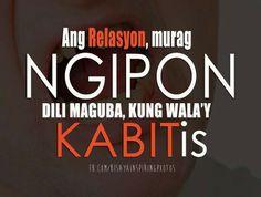Tagalog Quotes Patama, Pinoy Quotes, Tagalog Love Quotes, Bisaya Quotes, Happy Quotes, Life Quotes, Hugot Lines Tagalog, Filipino Funny, Medical Jokes