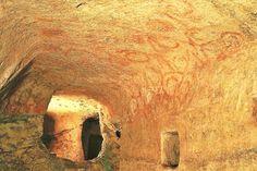 Ipogeo Hal Saflieni e le misteriose decorazioni in ocra rossa a forma di spirale